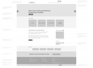 Nvision-Training-Wireframe-Design