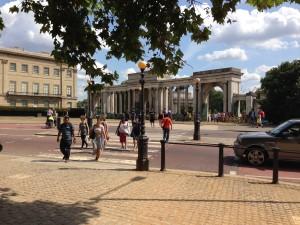 Hyde Park Corner, home to The Serpentine Galleries