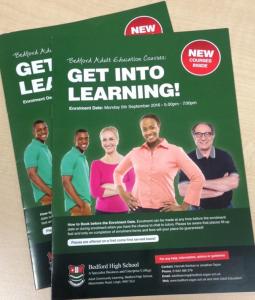 Bedford High adult education booklet.