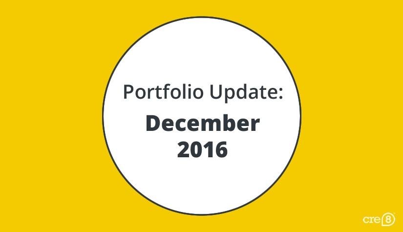 Portfolio blog update