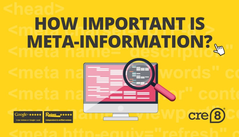 How important is meta-information for SEO and accessibility?