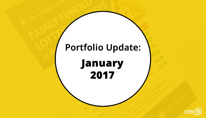 Portfolio blog update – January 2017