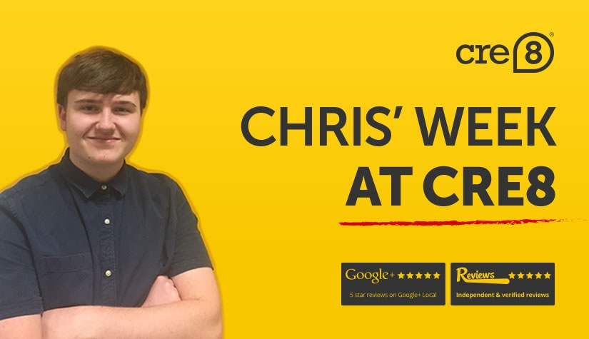 Chris' week at CRE8!