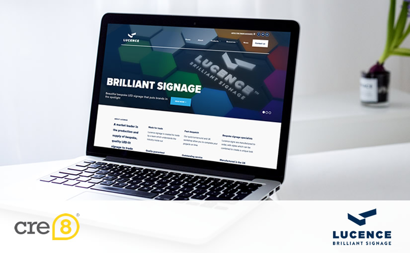 Creating brands: Lucence Signage