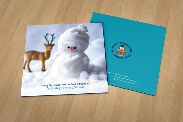 Tyldesley Primary School Christmas cards