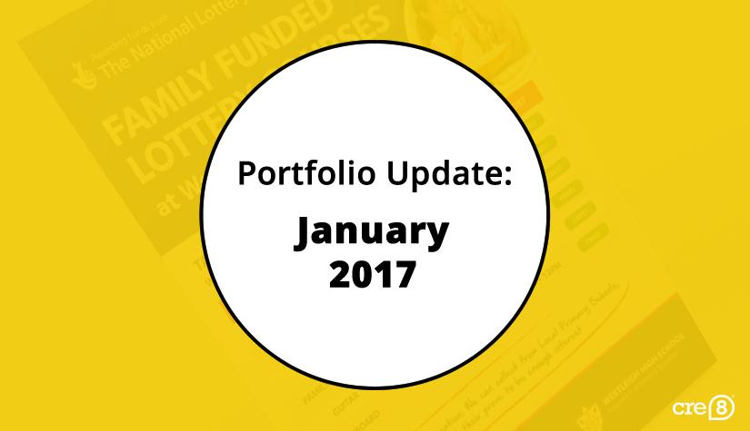 CRE8 January 2017 portfolio update