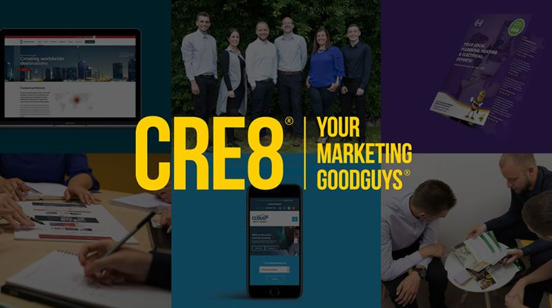 Introducing CRE8: Your Marketing Goodguys image